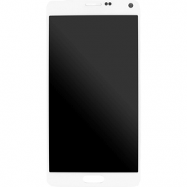 Vitre blanche pour Galaxy Note 4