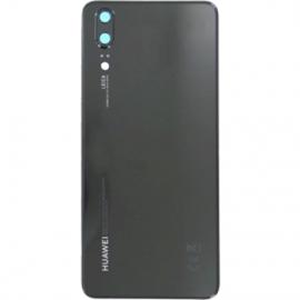 Vitre arriere pour Huawei P20 noir