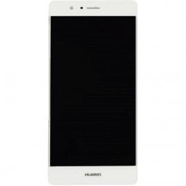 Ecran complet blanc pour Huawei P9 Lite