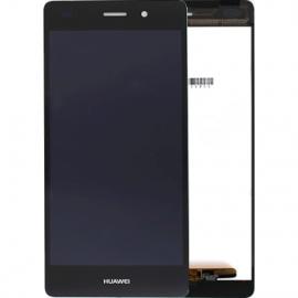 Ecran complet noir pour Huawei P8 Lite
