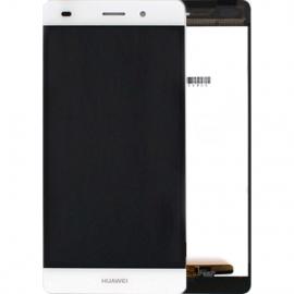 Ecran complet blanc pour Huawei P8 Lite
