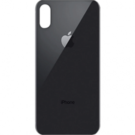 vitre -arriere iphone xs max gris sideral