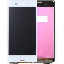 Ecran tactile blanc pour Sony Xperia Z3