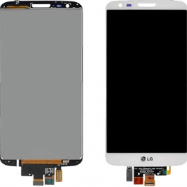 Ecran lcd tactile Blanc pour LG G2