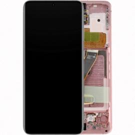 Ecran complet rose original Samsung Galaxy S20