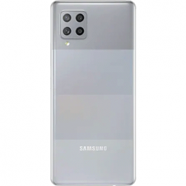Coque arriere grise originale Samsung Galaxy A42