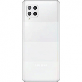 Coque arrière blanche originale Samsung Galaxy A42