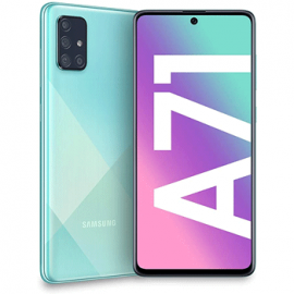 Galaxy A71 bleu