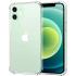 Coque en silicone transparent pour iPhone 12 et 12 Pro