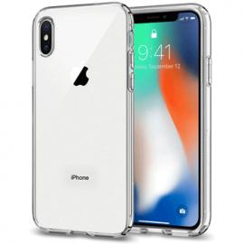 Coque en silicone transparent pour iPhone X