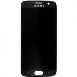 Ecran tactile OLED pour Galaxy S7 noir