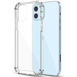 Coque en silicone transparent pour iPhone 12 Mini