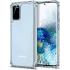 Coque en silicone transparent pour Galaxy S20 Plus