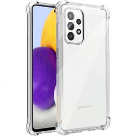 Coque en silicone transparent pour Galaxy A32