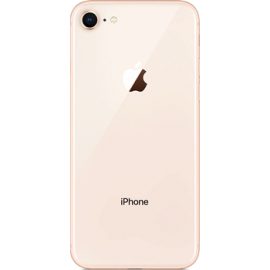 vitre arriere iPhone 8 gold