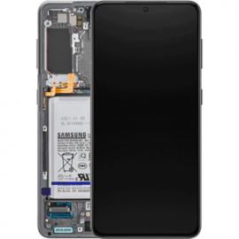 Ecran complet Original Samsung Galaxy S21 gris