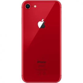 Vitre arriere rouge pour iPhone 8