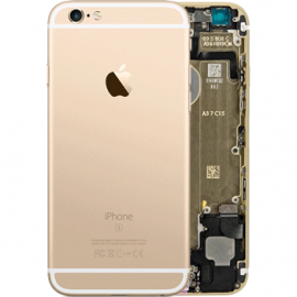 coque arriere chassis iphone-6s gold