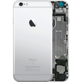coque arriere chassis iphone 6s complet argent
