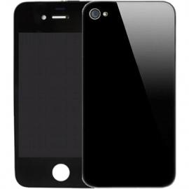 ecran complet iPhone 4s avec vitre arriere noir