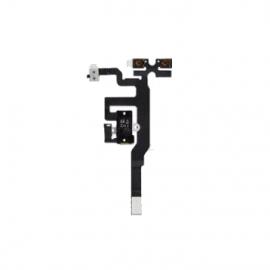 Nappe volume vibreur et Jack pour iPhone 4s