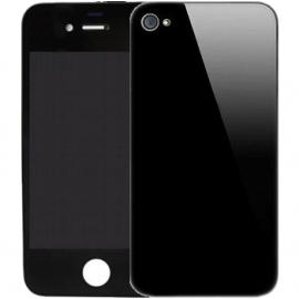 ecran iPhone 4 avec vitre arriere noire