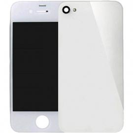 ecran iPhone 4 vitre arriere blanche