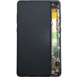Ecran complet noir original Samsung Galaxy S10 Plus