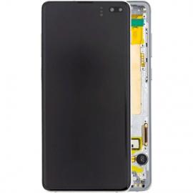 Ecran complet blanc original Samsung Galaxy S10 Plus