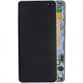 Ecran complet bleu original Samsung Galaxy S10 Plus