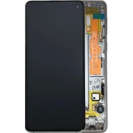 Ecran complet Blanc Original Samsung Galaxy S10