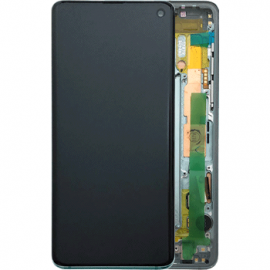 Ecran complet Vert Original Samsung Galaxy S10