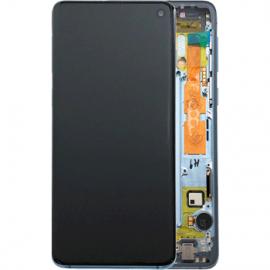 Ecran complet Bleu Original Samsung Galaxy S10
