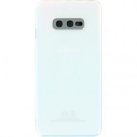 Vitre arriere blanche originale Samsung Galaxy S10e