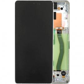 Ecran complet blanc original Samsung Galaxy S10 Lite