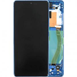 Ecran complet bleu original Samsung Galaxy S10 Lite