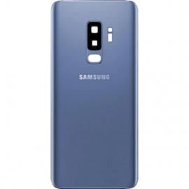 Vitre arriere bleu originale Samsung Galaxy S9 Plus