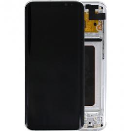 Ecran complet argent original Samsung Galaxy S8 Plus