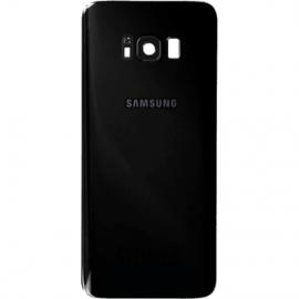 Vitre arriere noire originale Samsung Galaxy S8 Plus