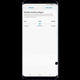 Ecran original reconditionne avec point noir pour Galaxy S8