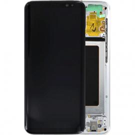 Ecran complet argent original Samsung Galaxy S8