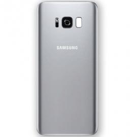 Vitre arriere argent originale Samsung Galaxy S8