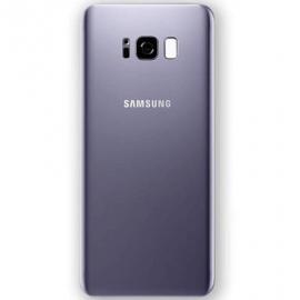 Vitre arrière orchidee originale Samsung Galaxy S8