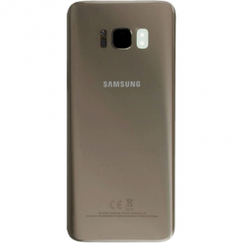 Vitre arriere gold originale Samsung Galaxy S8