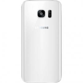 Vitre arriere blanche pour Galaxy S7