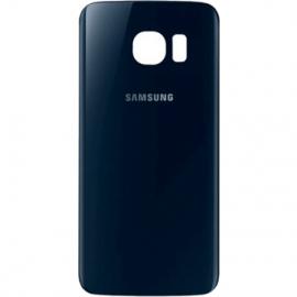 Vitre arriere noire pour Galaxy S6 Edge