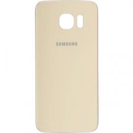 Vitre arriere Gold pour Galaxy S6 Edge