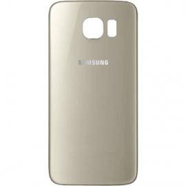Vitre arriere Gold pour Galaxy S6