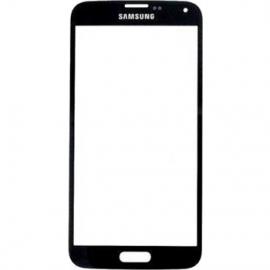 Vitre avant noire pour Galaxy S5