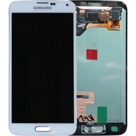 Ecran complet blanc Samsung Galaxy S5